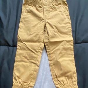 Carter's toddler boys khaki pants. NWOT